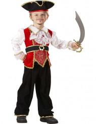 Kostume til en lille pirat luxe dreng