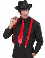 Rødt slips