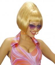 Blond pageparyk, kvindestørrelse