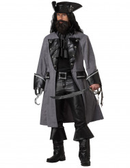 Kostume pirat mørk til voksne