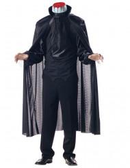Kostume hovedløs mand herrestørrelse