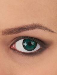 Kontaktlinser fantasy grønne og sorte voksen