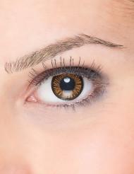 Kontaktlinser fantasy sorte og orange voksen