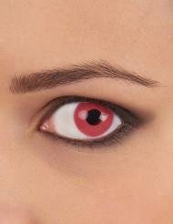 Kontaktlinser fantasy pinkfarvede voksen
