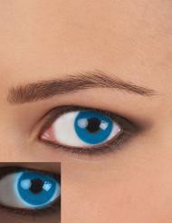 Kontaktlinser UV blå voksen