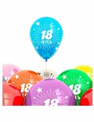 Balloner 8 stk. 18 års