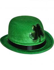 Hat trekløver grøn Skt. Patricks dag