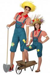 Par kostume farmer mor og datter