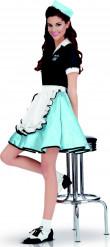 Kostume diner girl 50