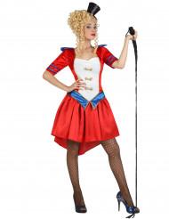 Kostume dyretæmmer i cirkus kvinde