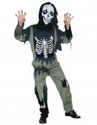 Skeletzombie - udklædning til børn