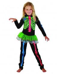 Kostume skelet farvet til piger