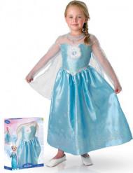 Gaveæske med kostume Elsa Frost™ til piger luksus
