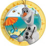 8 Små tallerkener med Olaf™