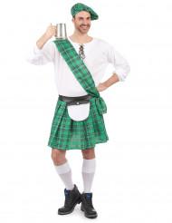 Kostume Skotte grøn til mænd