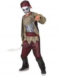Zombie-piratkostume drenge