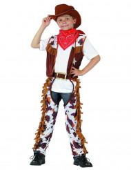 Udklædningsdragt cowboy barn
