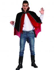 Kappe vampyr rød og sort