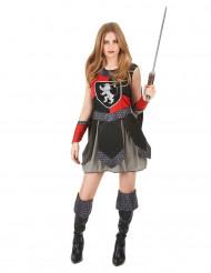 Udklædningsdragt middelalder ridder voksen