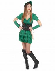 Grønt kostume til kvinder