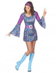 Disko hippie - Hippiekjole til kvinder