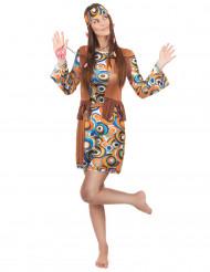 Den prikkede hippie - Hippiekjole til kvinder