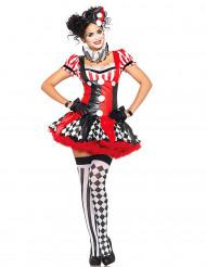 Kostume Harlequin til kvinder