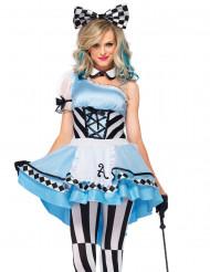Kostume prinsesse blå fantastisk til kvinder
