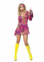 Tøsset hippie - Hippiekjole til kvinder
