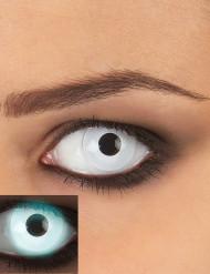 Kontaktlinser UV hvide voksen