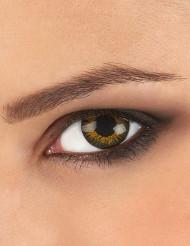 Kontaktlinser fantasy gyldne 3 nuancer voksen