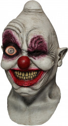 Heldækkende maske animeret klovn sindssyg voksen