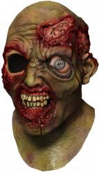 Heldækkende maske animeret enøjet zombie voksen