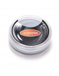 Sminke bruges med vand sølvfarvet 14g