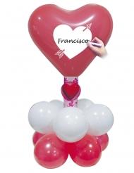 Ballon kit rødt hjerte
