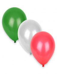 12 balloner i Italiens farver