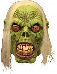 Maske zombie grøn