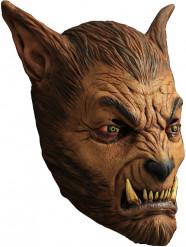 Maske varulv brun