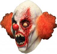 Heldækkende maske blodtørstig klovn