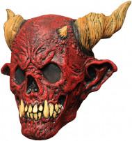 Maske skelet rød