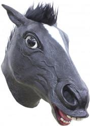 Maske sort hest
