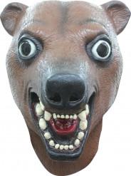 Maske brun bjørn