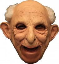 Maske 3/4 gammel mand deluxe