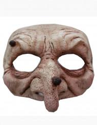 Halvdækkende maske heks