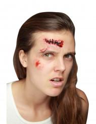 Falsk sår med sting