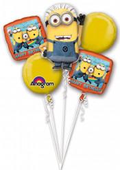 Buket af aluminium-balloner Minions™