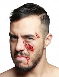 Falsk sår indslået kindben