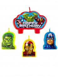 4 Fødselsdagslys Avengers™
