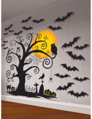 Dekorationskit til væg Halloween