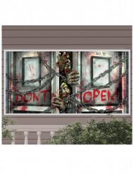 Banner plastik zombie